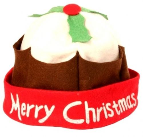 Christmas Pudding Hat Xmas Festive Seasonal Nativity